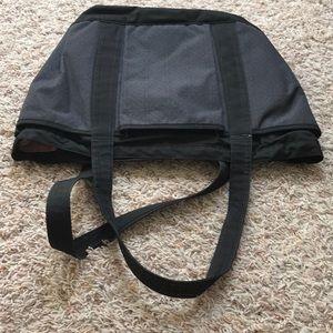 adidas Bags - Adidas black and gray/purple tote bag